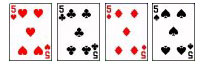4 five cards